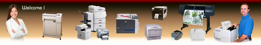 PSI offers a large variety of printers and printer service options